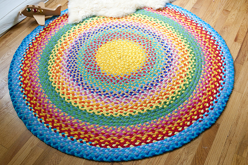 Babies blankets and wedding bliss for How to make rugs out of old t shirts