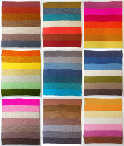 Good Color Combos Cool With Knitted Baby Blanket Color Combinations Photo