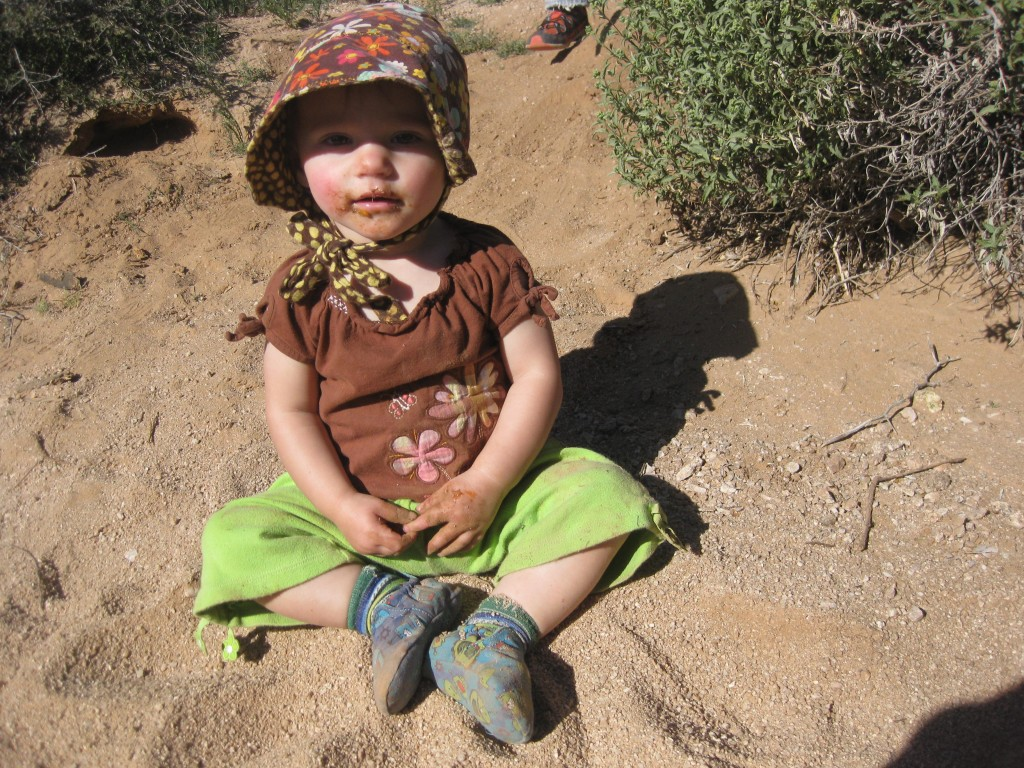The kids all loved playing in the open desert all week. It was the never-ending playground.
